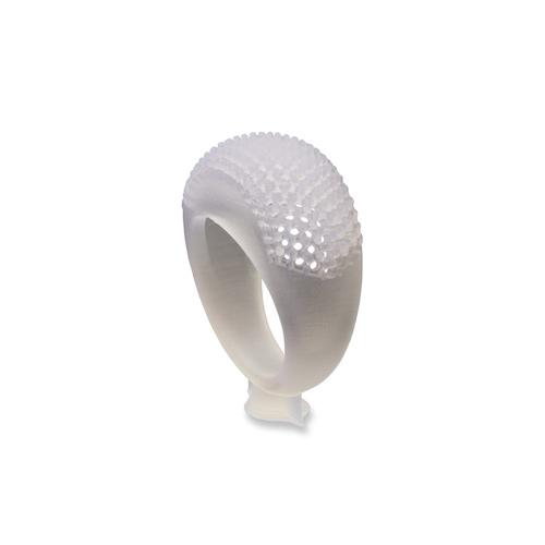 Образец ювелирной модели из High Temp Resin - кольцо паве