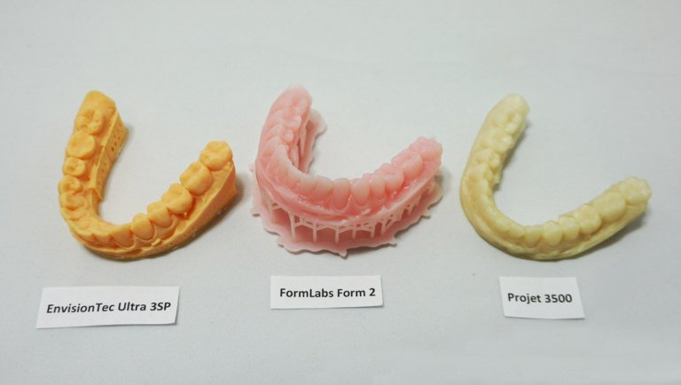 Зуби на Formlabs Form 2