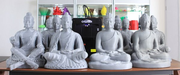 3D принтер CreatBot D600 вироби