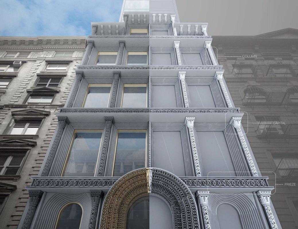 Реставрация зданий с помощью 3D моделирования