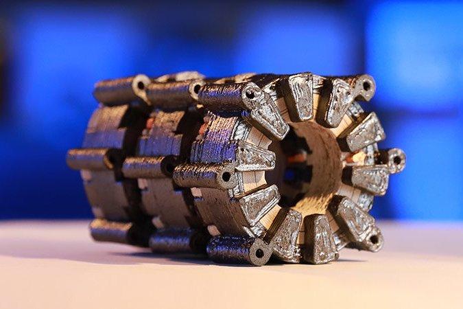 Первый в мире 3D печатный электродвигатель