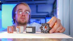 Первый в мире 3D печатный электродвигатель новости