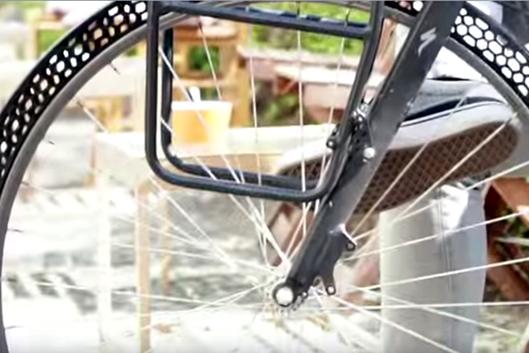 Создана 3D-печатная безвоздушная шина