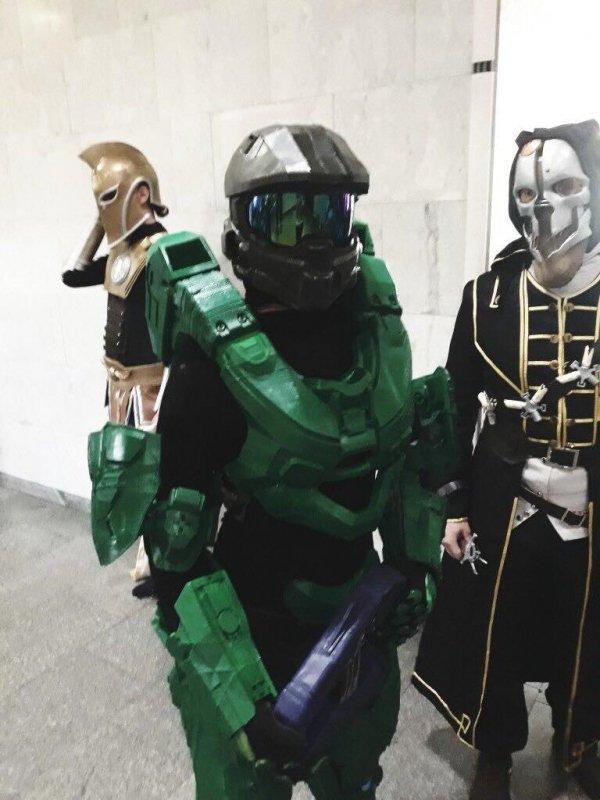 3D печать костюма для Comic Con новости