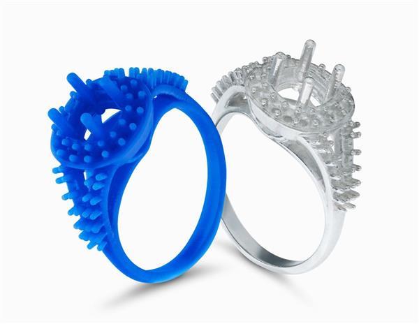 3Д модель кольца формлабс