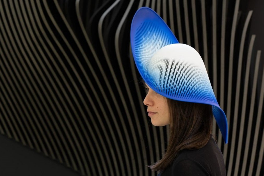 3D печатная шляпа из нейлона