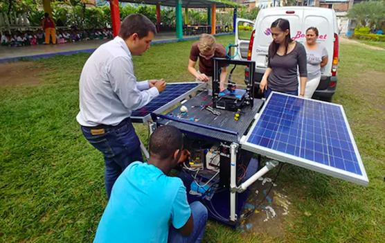 Солнечные батареи для 3D принтеров: разработка студентов