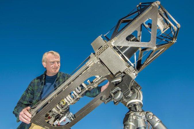 3D печать телескопа: улучшенные 3Д технологии
