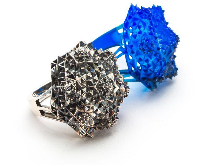 3Д модель кольца