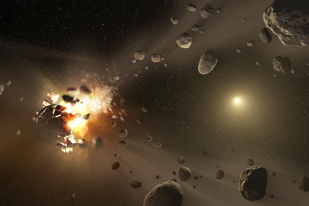 3D печать астероидов