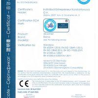 3D printer KLEMA certificate-1