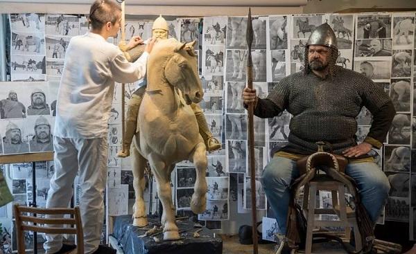 3D печать памятника Илье Муромцу в Киеве