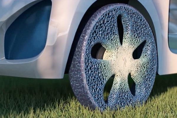 3D печать шин из древесины