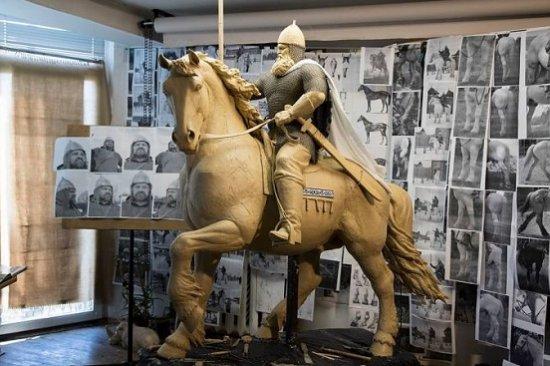 3D печать памятника Илье Муромцу