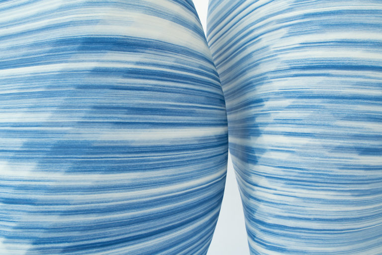 3Д печатные вазы из фарфора