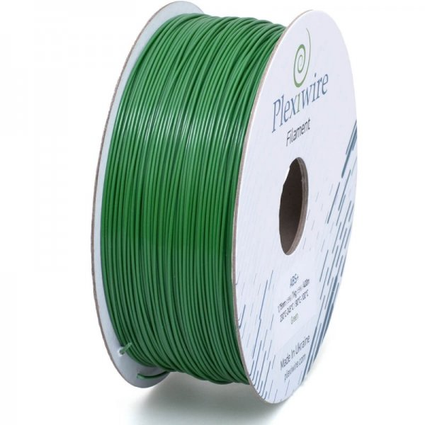 ABS+ пластик Plexiwire зелёный