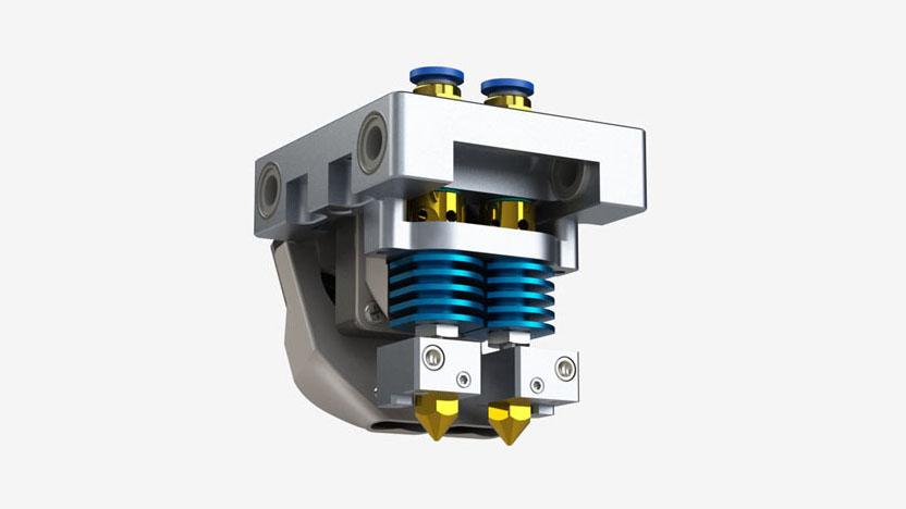 3D принтер CreatBot DЕ Plus екструдер