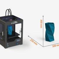3D принтер CreatBot DX область друку
