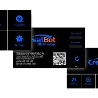 3D принтер CreatBot DX екран