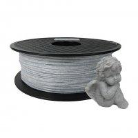 Мраморный PLA пластик KLEMA Marble White 1,75 мм