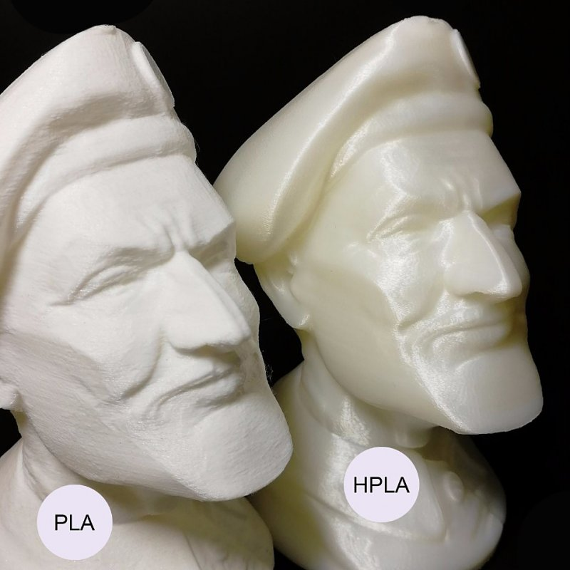 Пластик HPLA и PLA отличия