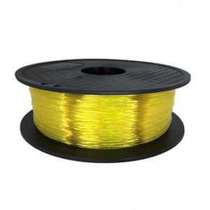 Flexible пластик KLEMA прозорий жовтий