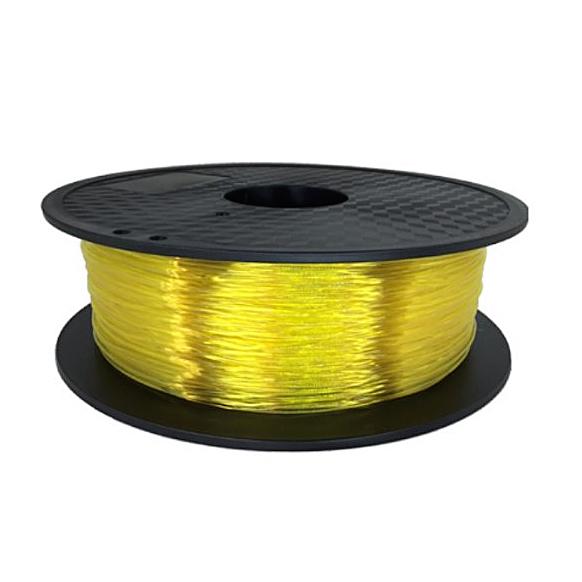 Flexible пластик KLEMA прозрачный жёлтый