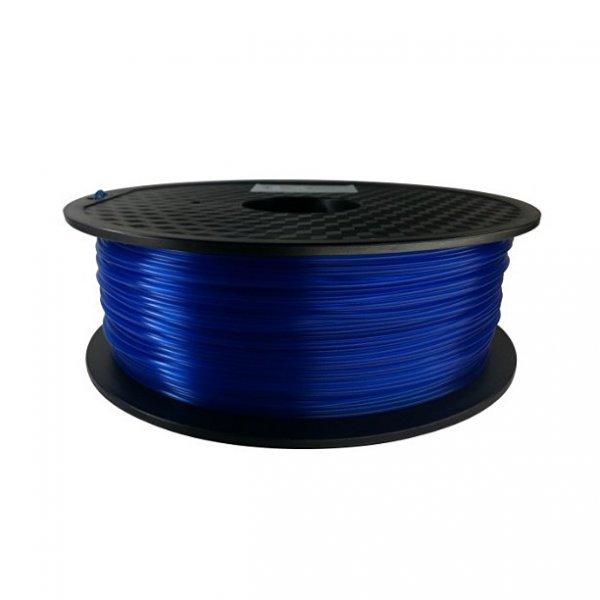 PLA пластик KLEMA прозрачный синий
