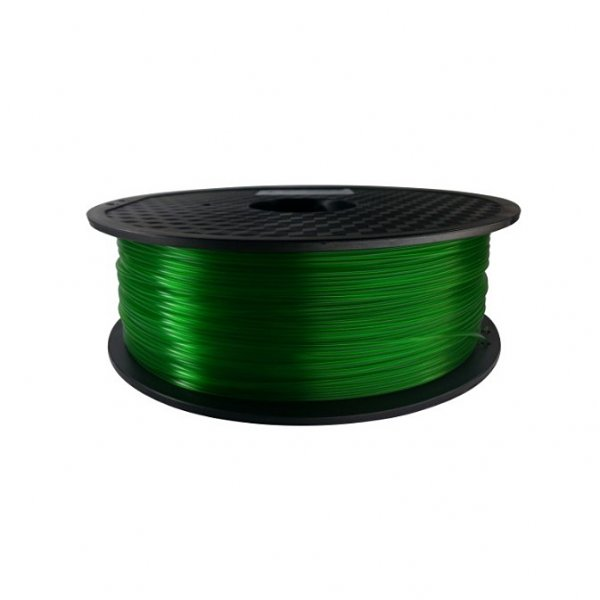 PLA пластик KLEMA прозрачный зелёный
