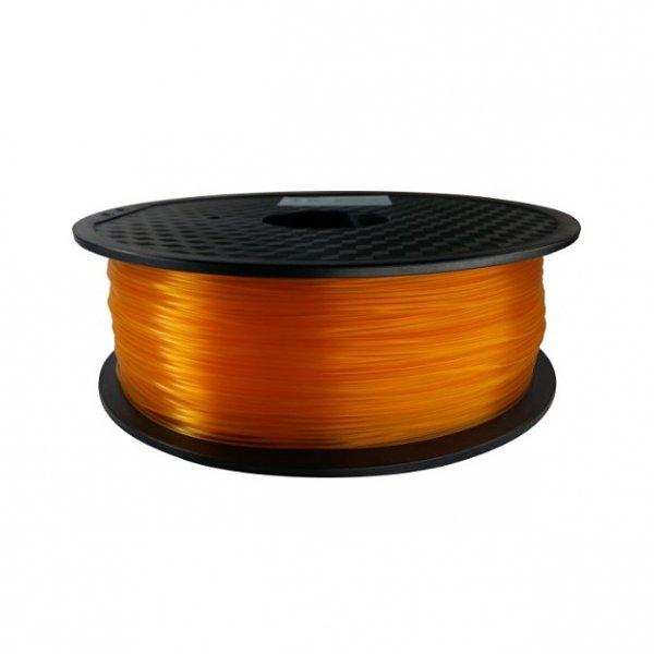 PLA пластик KLEMA прозрачный оранжевый
