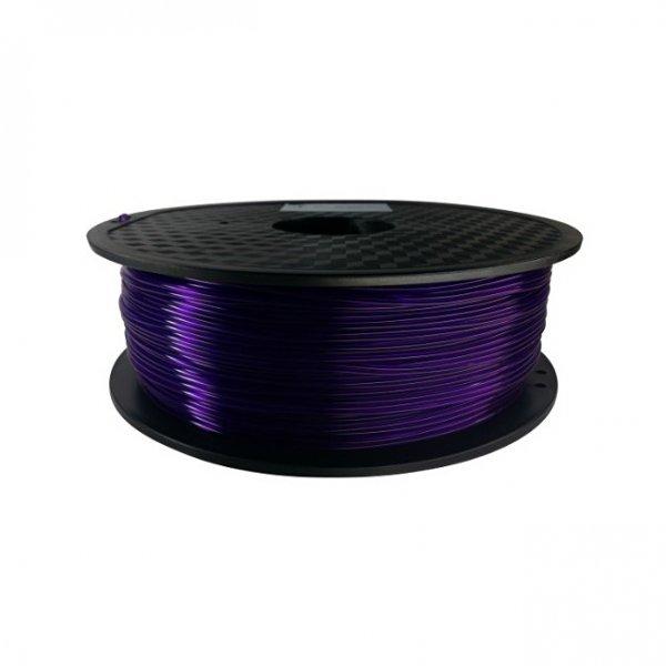 PLA пластик KLEMA прозрачный пурпурный