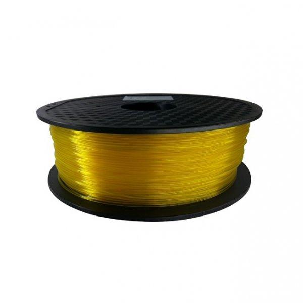 PLA пластик KLEMA прозрачный жёлтый