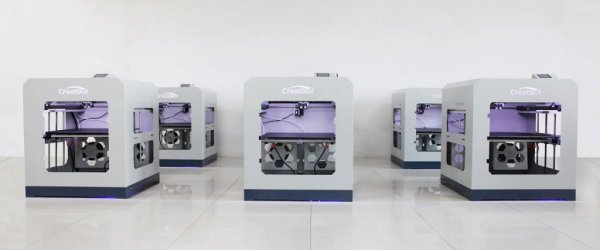 3D принтер CreatBot D600 Pro производство