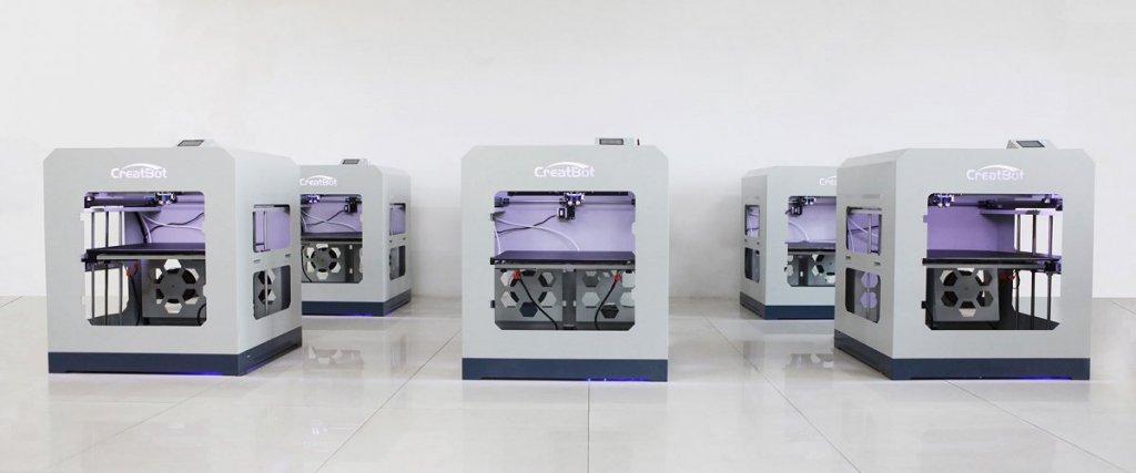 3D-printer CreatBot D600 Pro production