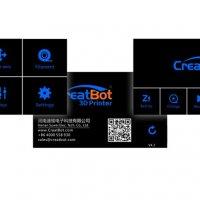 CreatBot D600 Pro экран