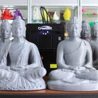 3D принтер CreatBot D600 Pro примеры изделий