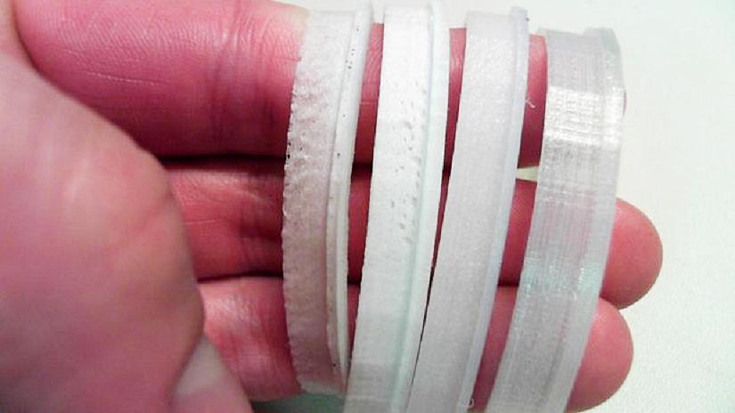 Как определить сырой пластик по виду деталей