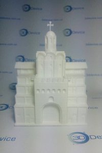 3Д печать Золотые Ворота