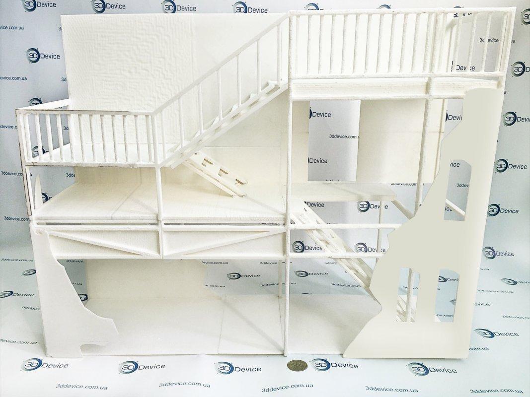 Макетирование дома 3Д печать