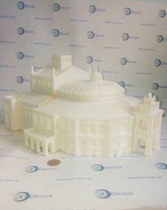 3Д печать оперный театр