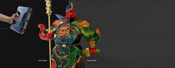 3D сканер EinScan Pro 2X цветопередача
