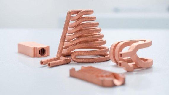 3D печать медью и золотом