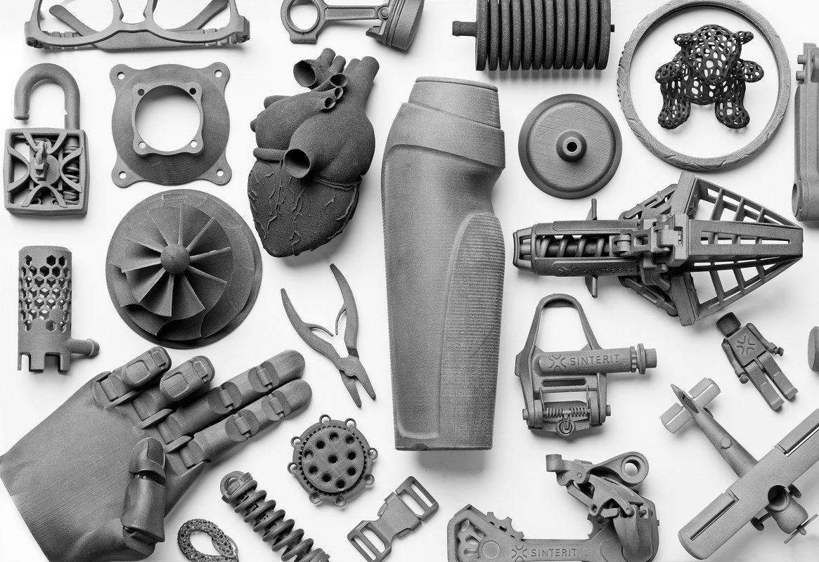 3D принтер Sinterit LISA изделия