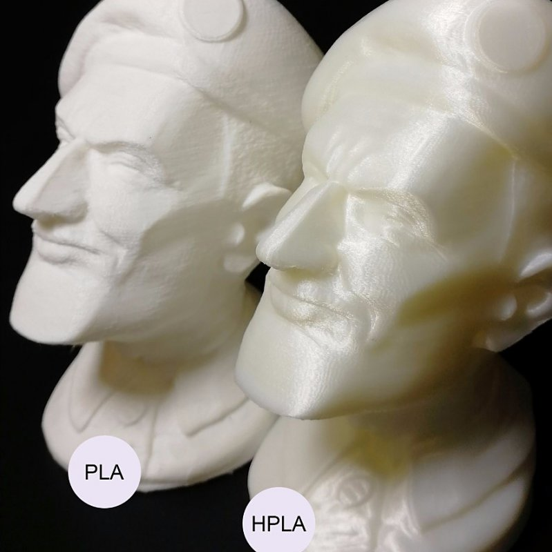3D пластик HPLA приклад виробів