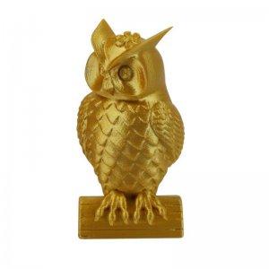 3D пластик PLA KLEMA Real Gold сова