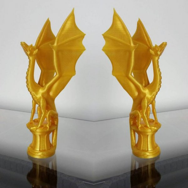 3D пластик PLA KLEMA Real Gold применение