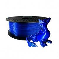 PLA пластик KLEMA 1,75 мм прозрачно-синий
