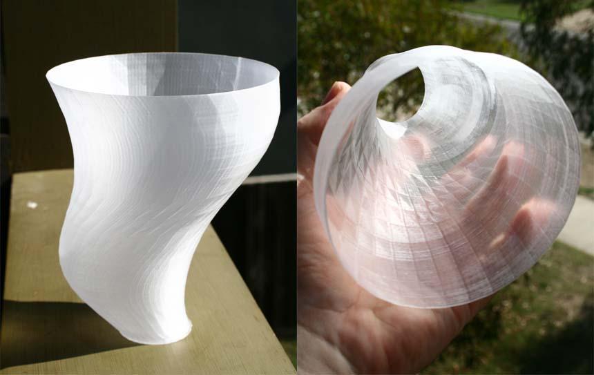 Прозрачная3D печать стеклом