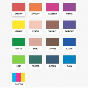 Набір Color Kit змішування кольорів