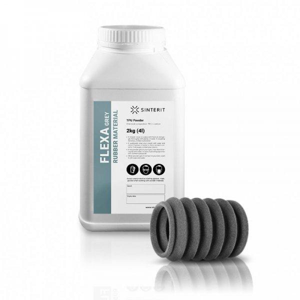 Порошок SLS FLEXA Grey от Sinterit
